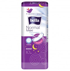 BELLA Normal Maxi AIR softiplaint белая линия/10шт
