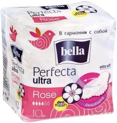 BELLA  Perfecta ROSE Ultra Deo Fresh/10шт